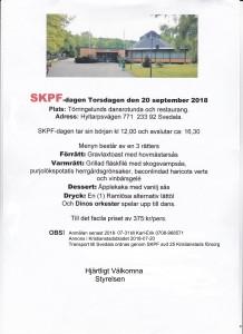 SKPF dagen inbjudan